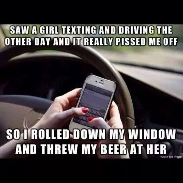 Funny Quotes About Texting: Quotes About Texting And Driving. QuotesGram