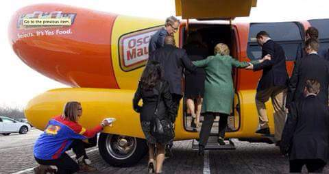 "You Democrats can ""eat the weiner"" now!..."