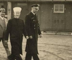 Palestinian leader Haj Amin al-Husseini with Nazi ...