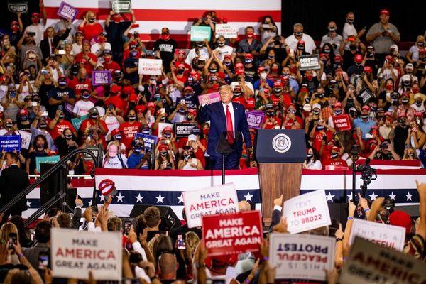 Trump Rally - Henderson, Nevada...