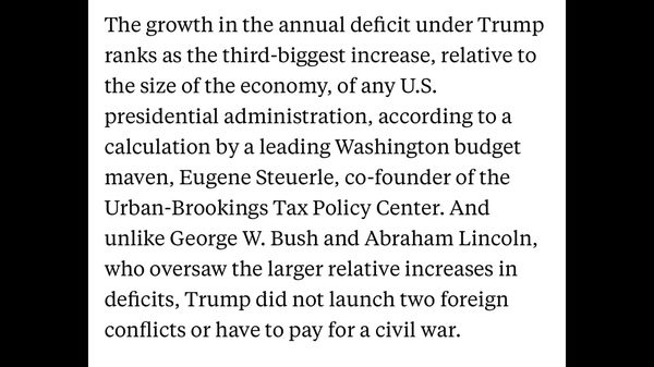 OMG the 3 largest deficits in history are republic...